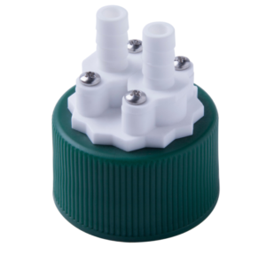SaFTFlo® Dual Port Cap Adapter