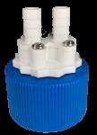 dual port cap adapter